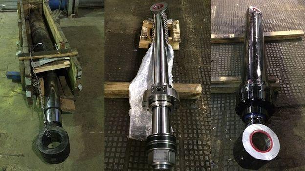 ремонт штока гидроцилиндра, восстановление штока, ремонт гидравлики, диагностика гидравлики, гидравлическое оборудование