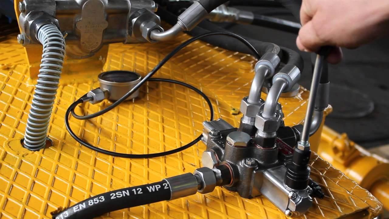 ремонт гидрораспределителей экскаватора